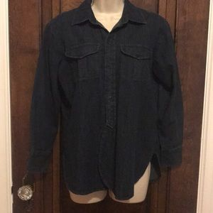 Madewell denim button up